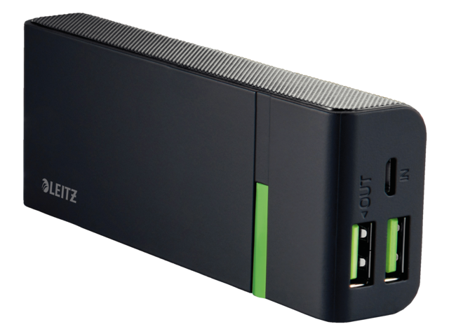 Photo: POWERPACK LEITZ COMPLETE USB 5200MAH ZWART