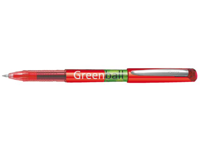 Photo: ROLLERPEN PILOT GREENBALL BEGREEN 0.35MM ROOD