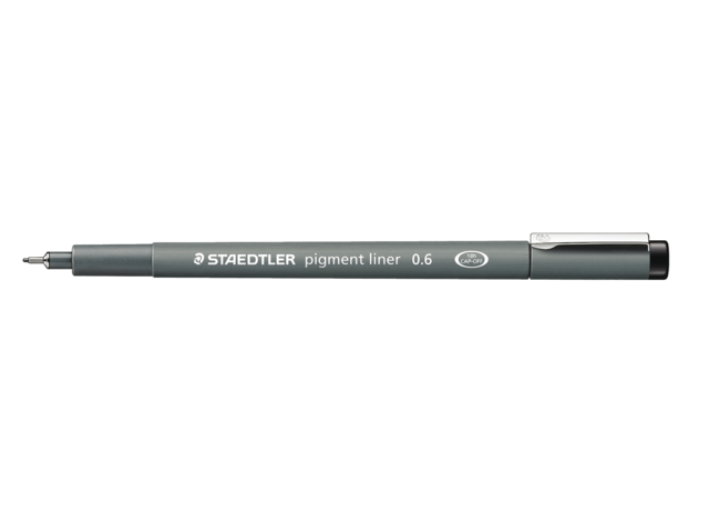 Photo: FINELINER STAEDTLER PIGMENT 308 0.5MM ZWART