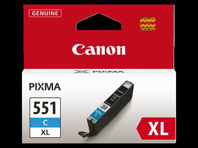 Photo: INKCARTRIDGE CANON CLI-551XL HC BLAUW