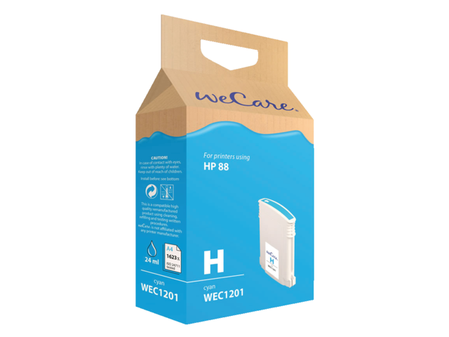 Photo: INKCARTRIDGE WECARE HP 88XL C9391AE HC BLAUW