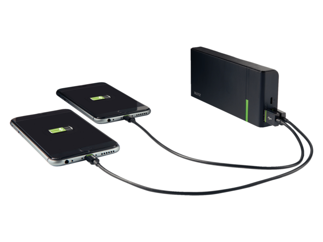 Photo: POWERPACK LEITZ COMPLETE USB 10400MAH ZWART