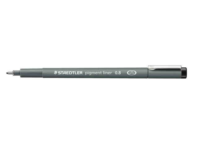 Photo: FINELINER STAEDTLER PIGMENT 308 0.7MM ZWART