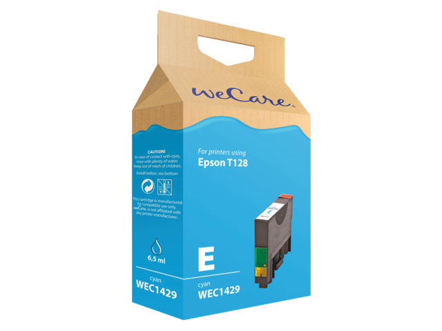 Photo: INKCARTRIDGE WECARE EPS T128240 BLAUW
