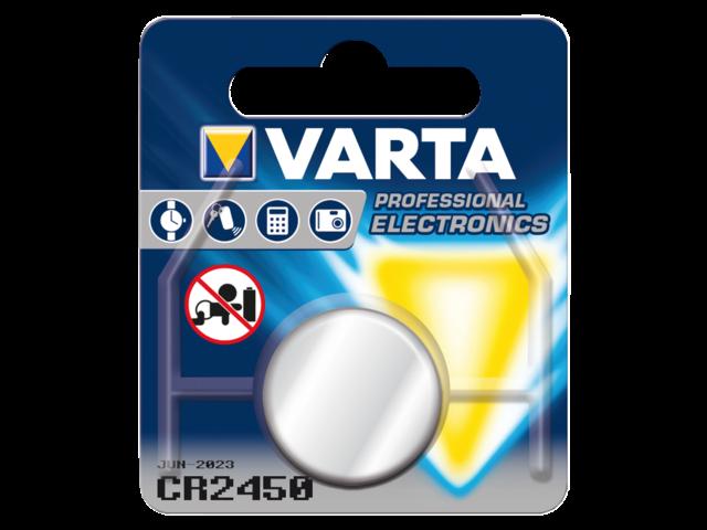 Photo: BATTERIJ VARTA CR2450 LITHIUM