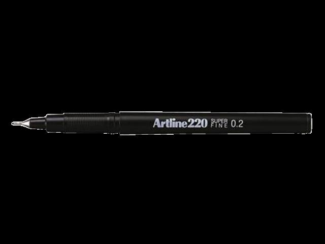 Photo: FINELINER ARTLINE 220 ROND 0.2MM ZWART