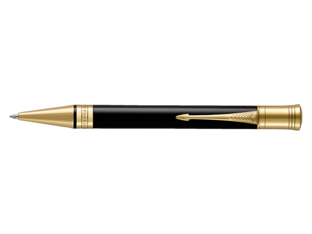 Photo: BALPEN PARKER DUOFOLD BLACK&GOLD M