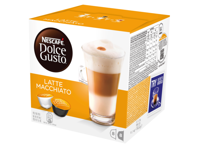 Photo: DOLCE GUSTO LATE MACCHIATO 16 CUPS / 8 DRANKEN