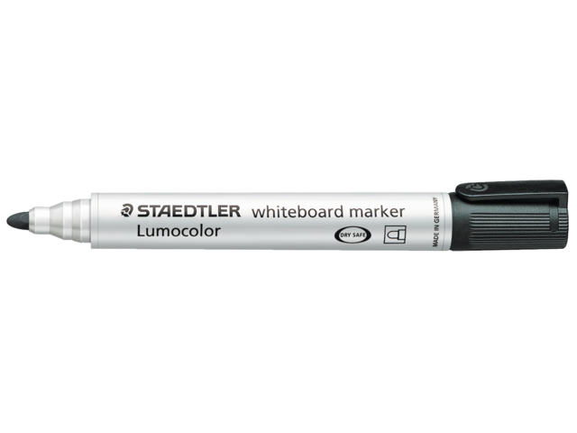 Photo: VILTSTIFT STAEDTLER 351 WHITEBOARD ROND 2MM ZWART