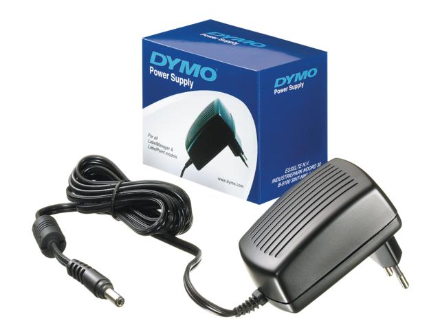 Photo: ADAPTER DYMO 40076 UNIVERSEEL VOOR LABELPRINTERS