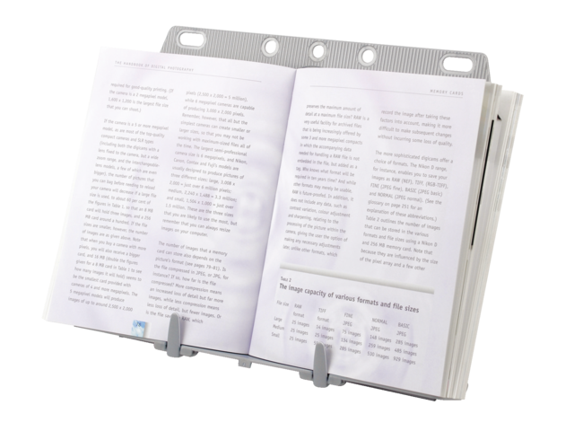 Photo: DOCUMENTENHOUDER FELLOWES BOOKLIFT ZILVER