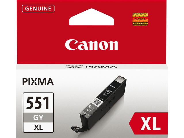 Photo: INKCARTRIDGE CANON CLI-551XL HC GRIJS