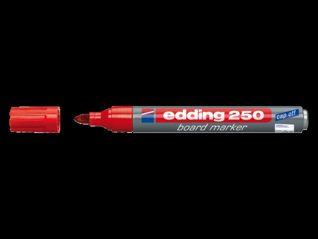 Photo: VILTSTIFT EDDING 250 WHITEBOARD ROND 1.5-3MM ROOD