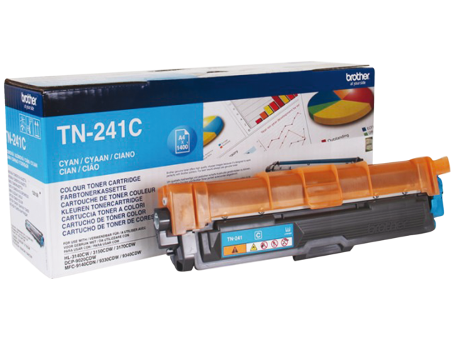 Photo: TONER BROTHER TN-241 1.4K BLAUW