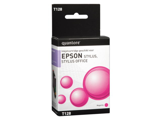 Photo: INKCARTRIDGE QUANTORE EPS T128340 ROOD