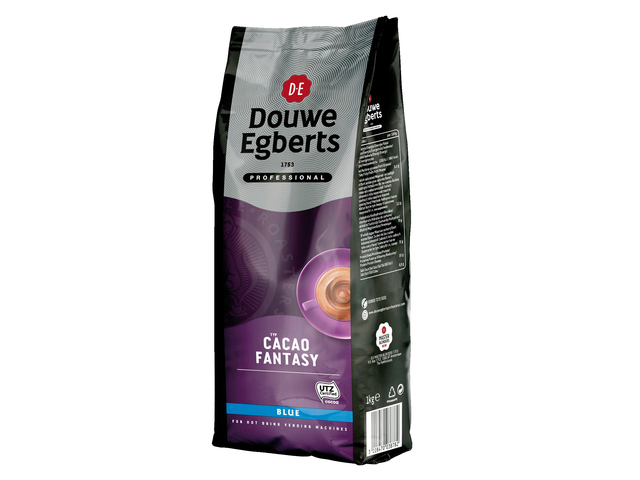 Photo: CACAO DOUWE EGBERTS FANTASY BLUE MELK 1KG