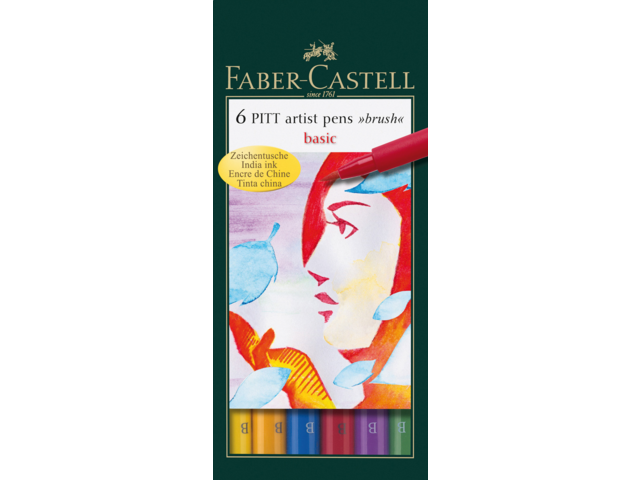 Photo: BRUSHSTIFT FABER CASTELL PITT ARTIST