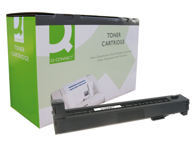 Photo: TONERCARTRIDGE Q-CONNECT HP CB380A 16.5K ZWART