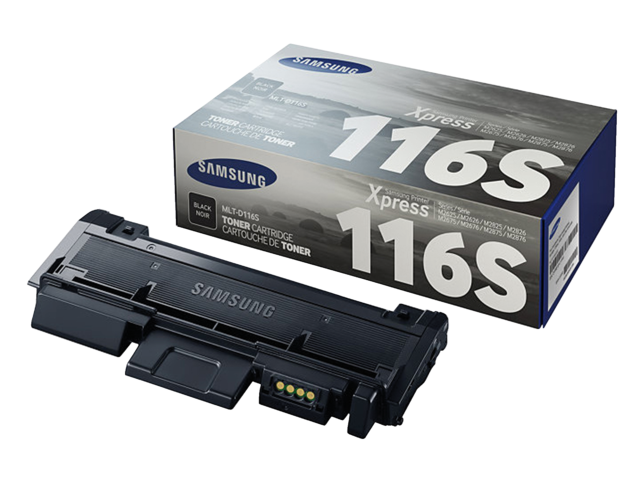 Photo: TONERCARTRIDGE SAMSUNG MLT-D116S SU840A 1.2K ZWART