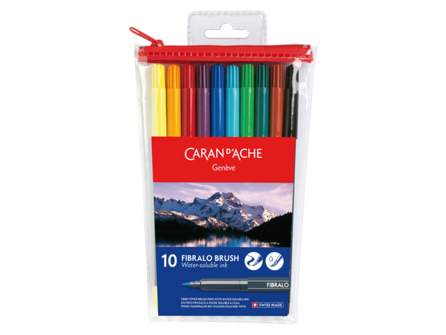 Photo: BRUSHSTIFT CARAN D'ACHE AQUAREL FIBRALO