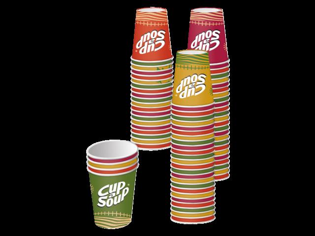 Photo: CUP A SOUP BEKER KARTON