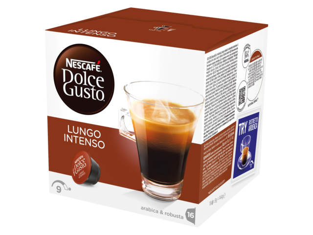 Photo: DOLCE GUSTO LUNGO INTENSO 16 CUPS