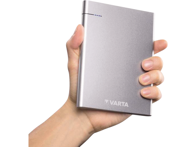 Photo: POWERPACK VARTA 18000MAH ZILVER