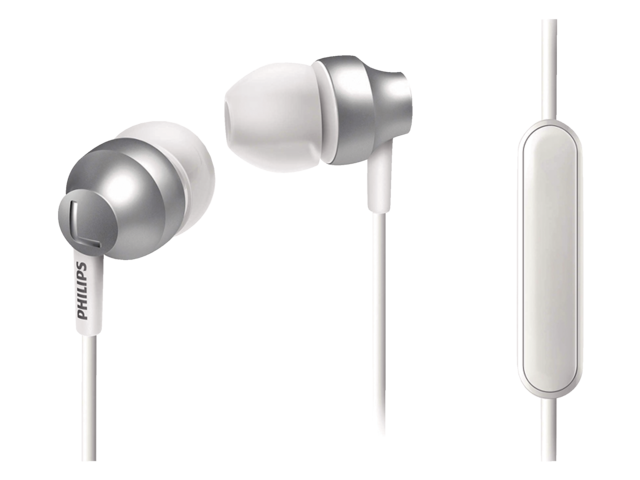 Photo: HEADSET PHILIPS E3855 IN EAR ZILVER WIT