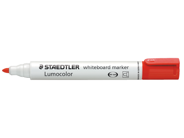 Photo: VILTSTIFT STAEDTLER 351 WHITEBOARD ROND 2MM ROOD