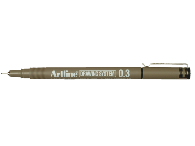 Photo: FINELINER ARTLINE 0.3MM ZWART