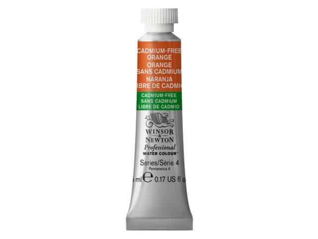 Cadmium vrij : Winsor and Newton professional aquarelverf tube