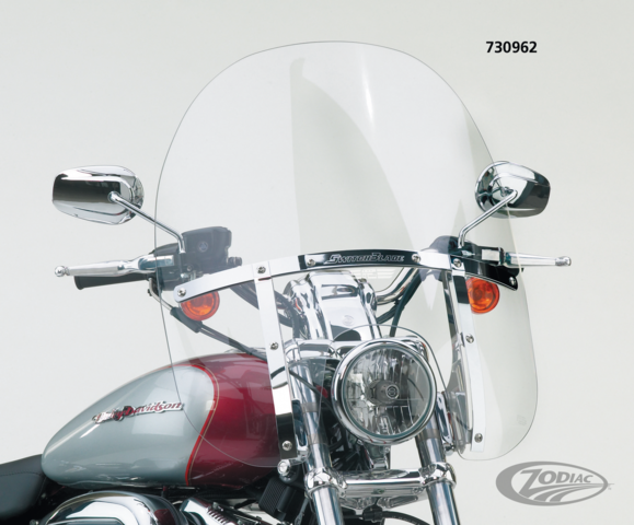 1993-2005 Harley-Davidson FXDWG Dyna Wide Glide Heavy Duty Windshield