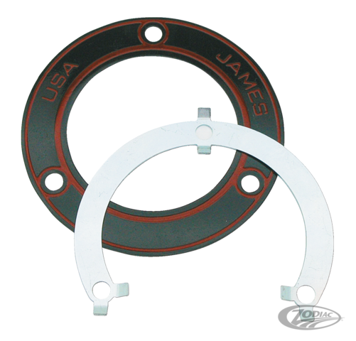 JAMES' STEEL-CORE INNER PRIMARY TO CRANKCASE GASKET - Zodiac