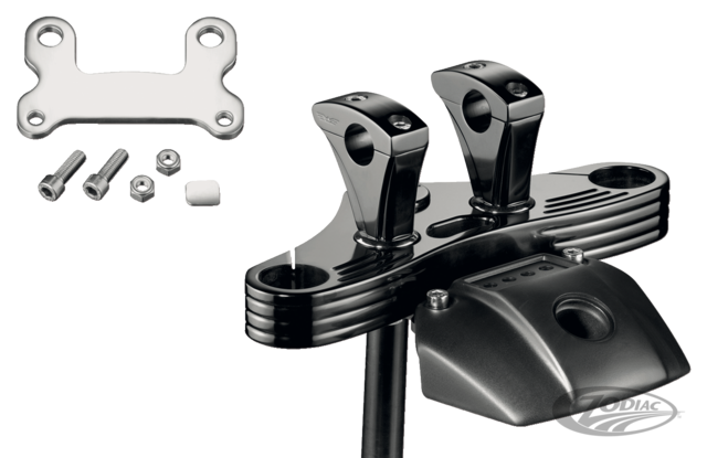 Rebuffini Leda Triple Trees For Sportster Fxr And Dyna