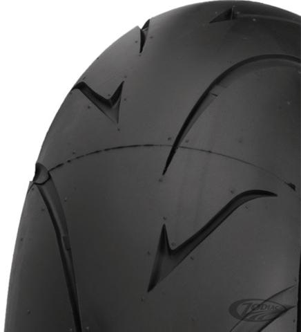 200//55 17 Shinko 011 Verge Radial Tire Kit 120//70 17