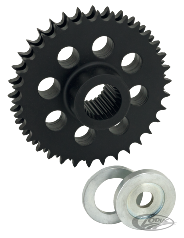 SOLID COMPENSATING SPROCKET FOR TWIN CAM - Zodiac