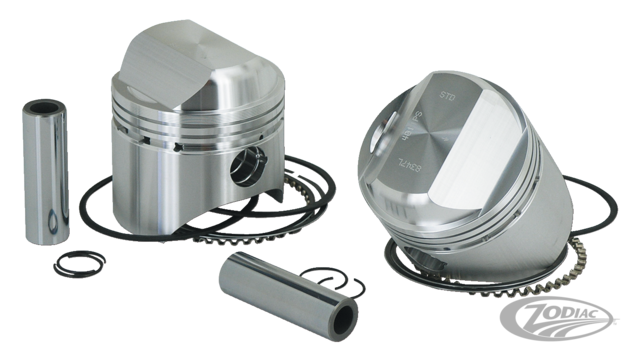 These Wiseco Piston Kits Are Exclusively Designed To Offer The Harley Davidson Owners Many Advantages Over Stock And Other Aftermarket Pistons