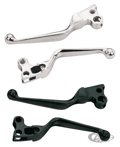 Chrome Replacement Lever Pin Set for Harley Touring models with Hydraulic Clutch