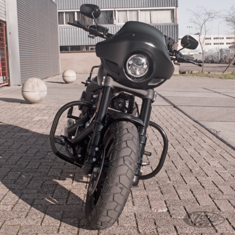 CRASH/HIGHWAY BARS FOR HARLEY-DAVIDSON - Zodiac