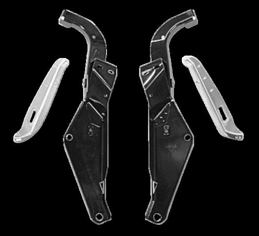 Heavy Duty Inner Fairing Support Brackets Harley Repl 58478-96B 58479-96B