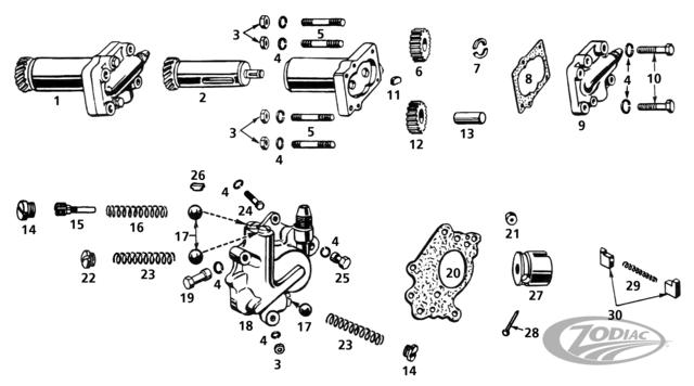 oil  u0026 scavenger pump on side valve models
