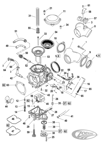 Harley Carb Diagram