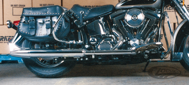 KERKER 2-INTO-1 EXHAUST SYSTEMS FOR SOFTAIL - Zodiac