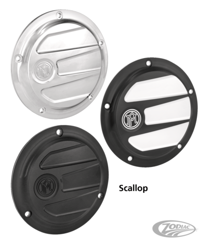 Chrome 5-Hole Derby Cover for Harley Dyna Softail Touring Models 1999-x