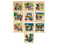 Puzzelserie samenspel