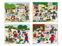Puzzle Serie Jahreszeiten