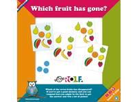 Learn & Play: Welche Frucht fehlt?