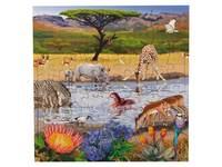 Puzzle Serie Landschaft und Bedrohte Gebiete