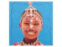 Puzzelserie Blije kinderen