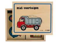 Puzzle Serie Midi Fahrzeuge
